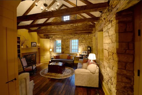 Peaceful, Spacious, Historic Stone Cottage Getaway