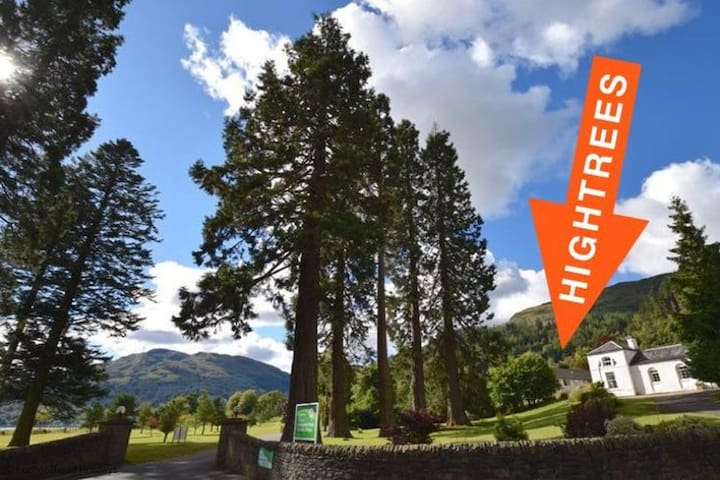 Hightrees Holiday Home - Lochgoilhead - Hus