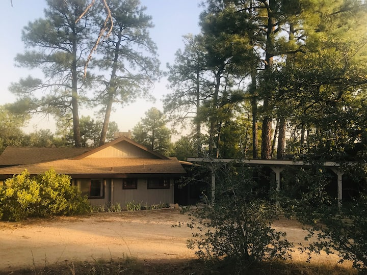 Charming Cozy Cabin in the Woods near Whiskey Row