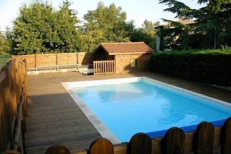 Grande maison familliale avec piscine - Orliénas - Haus
