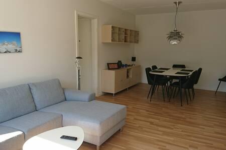 Moderne lejlighed tæt på Bakken og København