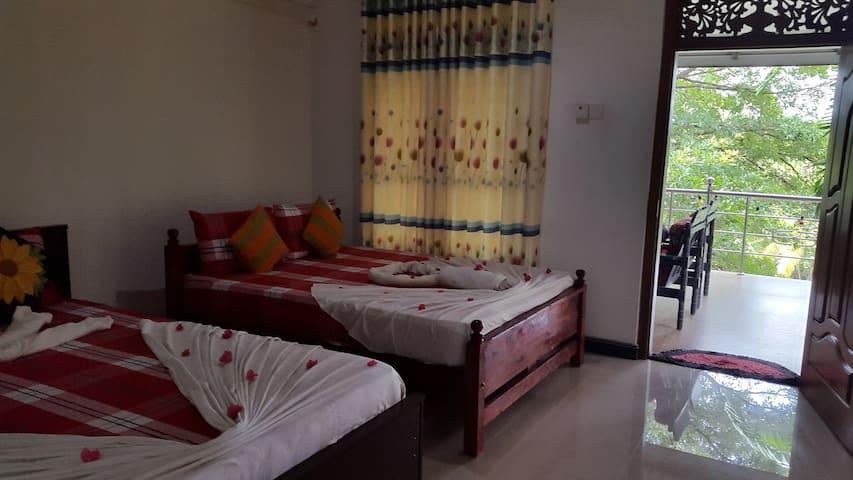 Giritale Green Garden Polonnaruwa-Family Room