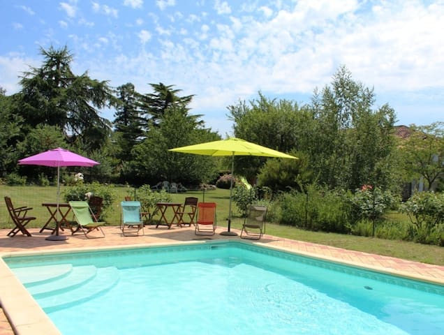 Le Patio, Lot et Garonne - Bazens - House