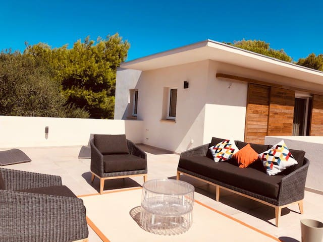 Casa Carlotti piscine et jacuzzi privé