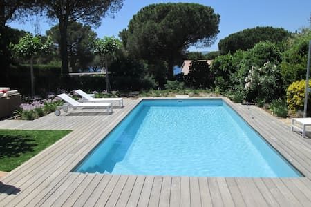 Lovely pool villa near beach and St.Tropez - La Croix-Valmer