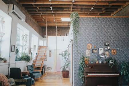 Perfect Bohemian Staycation at The Funky Loft