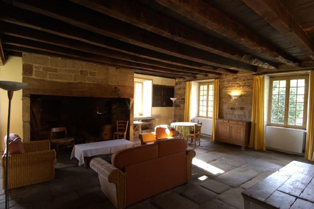 Gîte du Cher - Corrèze - France Salle de détente