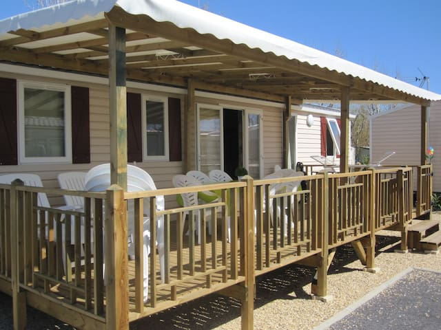 Mobil-home 8 places, grand confort - Valras-Plage - Domek parterowy