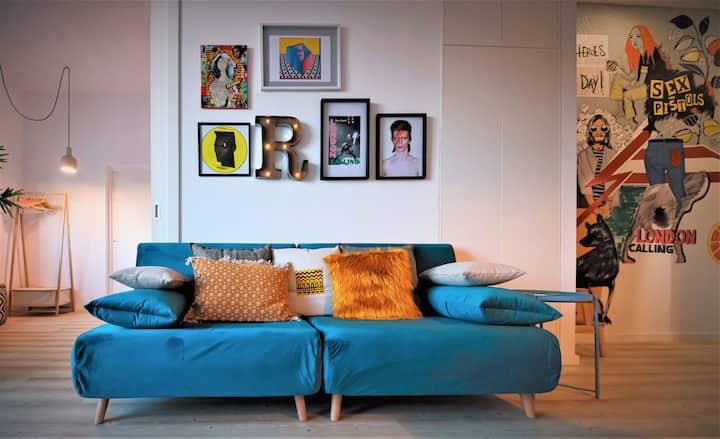 Art District - Rock Apartment - Clean & Safe