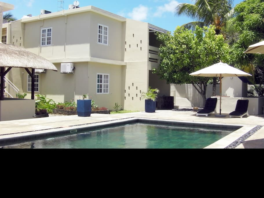 R sidences le beau manguier p reyb re maurice serviced for Beau jardin apartments reviews