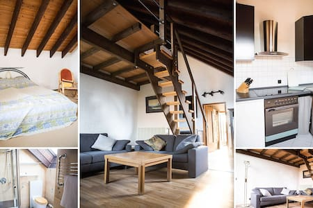 Einliegerwohnung mit Sat-TV und WLAN, Nähe Rhein - Apartamento
