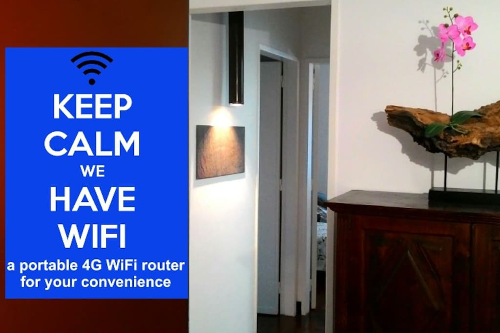 Be conneted 24h a day. Take the WiFi portable router in pocket wherever you go.