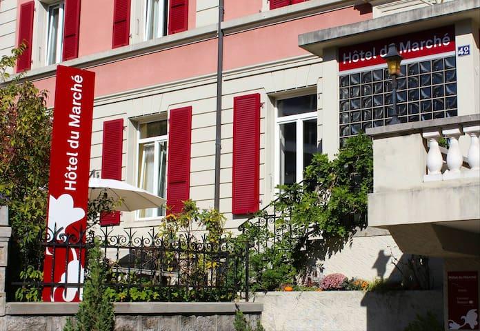 Chambre au coeur de Lausanne - Losanna - Bed & Breakfast