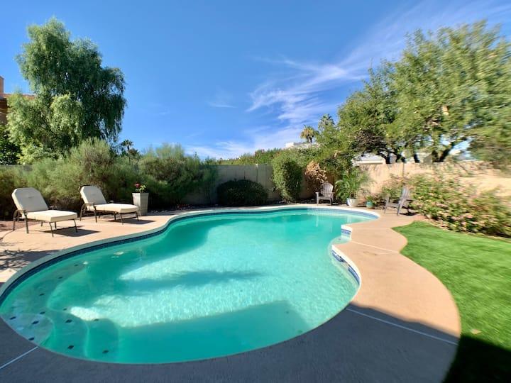 3000 Sqft Scottsdale Retreat w/ Heated Pool & Spa