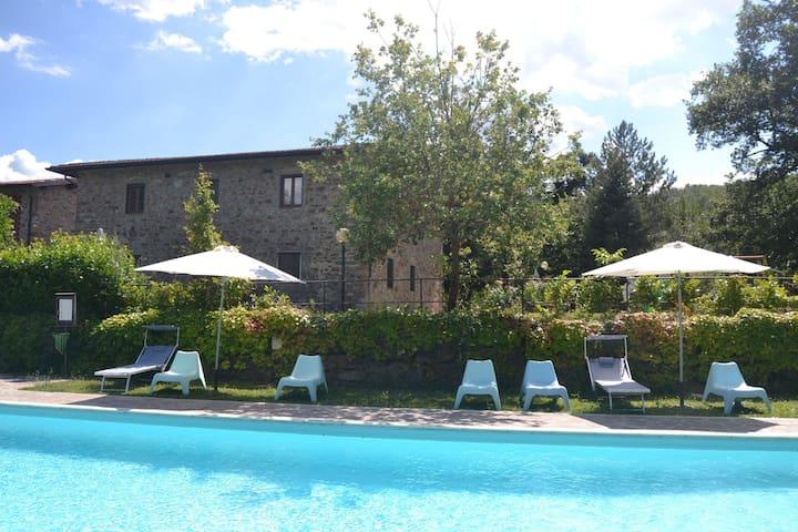 Maison de vacances provinciale avec piscine en Toscane