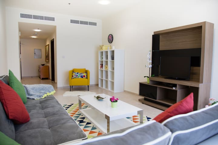Spacious and well designed apartment