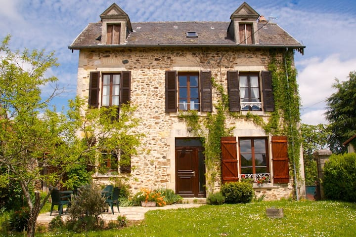 Old stone French country house in Dordogne