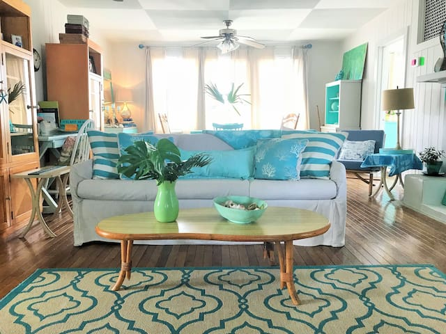 Vilano Beach Vagabond's House~St Augustine Florida
