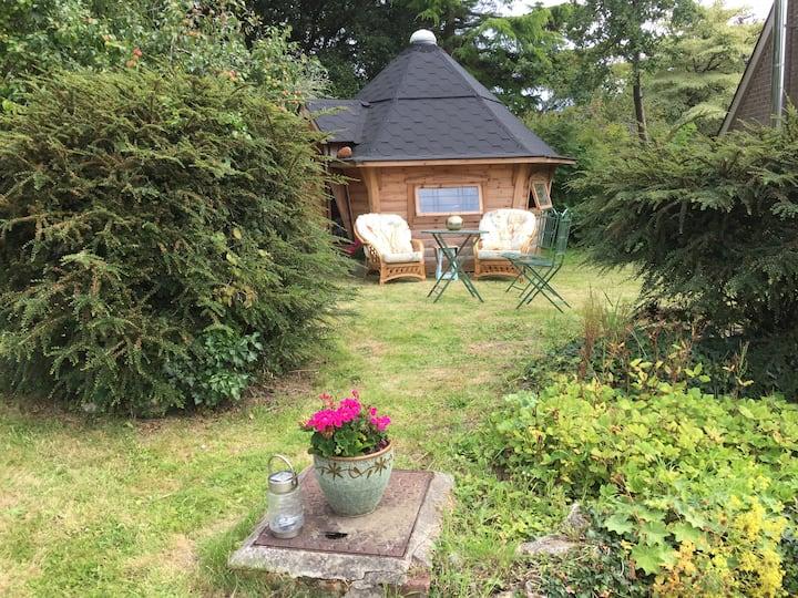 Beautiful West Dorset  (2) Cosy hut in the garden