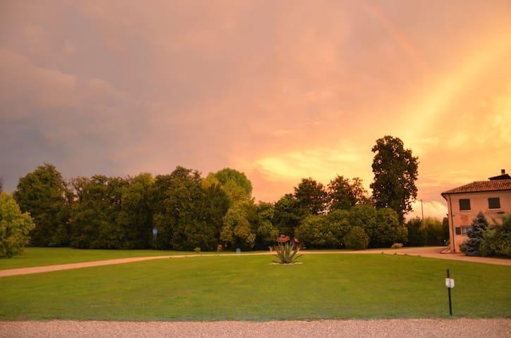 L'alba sul parco