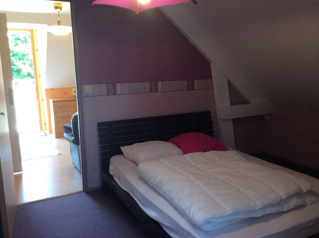 deux pi ces meubl 10mn de rennes flats for rent in bruz bretagne france. Black Bedroom Furniture Sets. Home Design Ideas