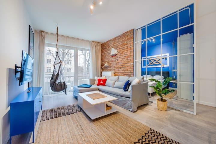 Riverfront Apartament 12 dla 4 osób