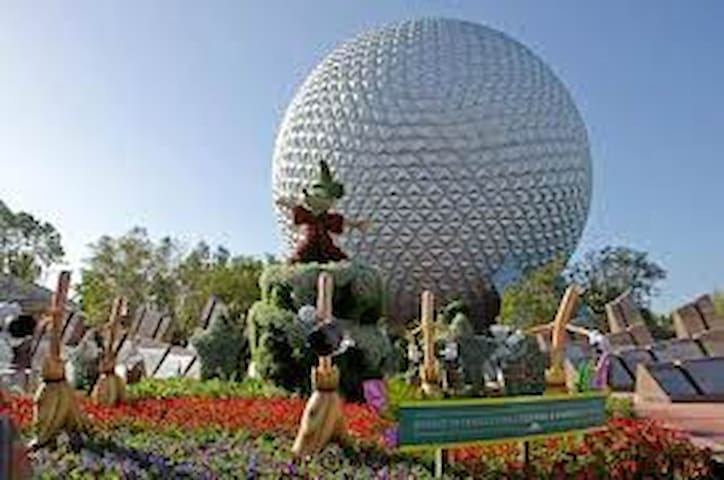 Epcot @ Disney World. Within a short ride.