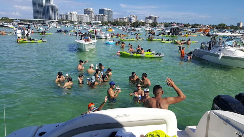 Party with us and enjoy best things to do in Miami