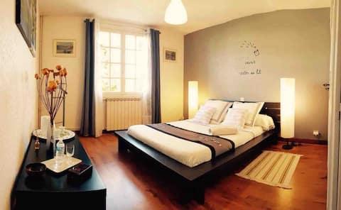 Chambre cosy 15 min de Bordeaux Centre