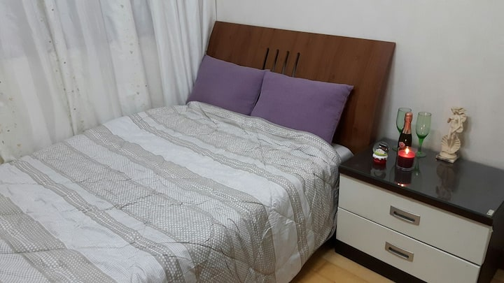 Private room(distant ocean view, Super single bed)