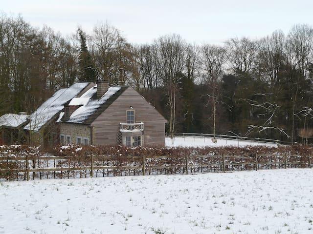 Belle maison en bois dans un écrin de verdure - Namur