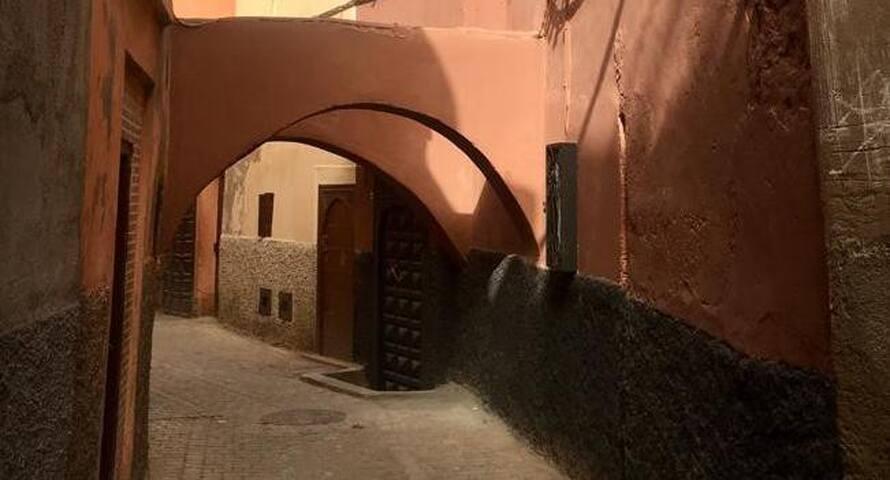 Riad Darsahalia chambre 3, 1 lit double