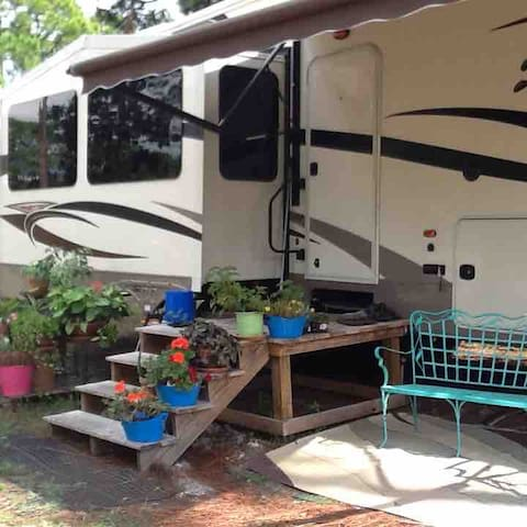 B and B on the Bayou, Cedar Creek RV