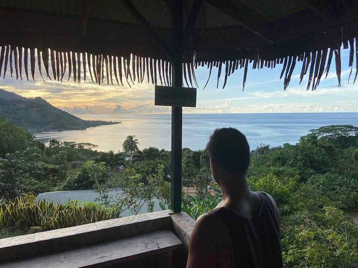 Moorea Tropical Garden Lodge Chambre 1