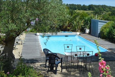 Paimpol- Plourivo, chalet + pool4/5 people - Hus