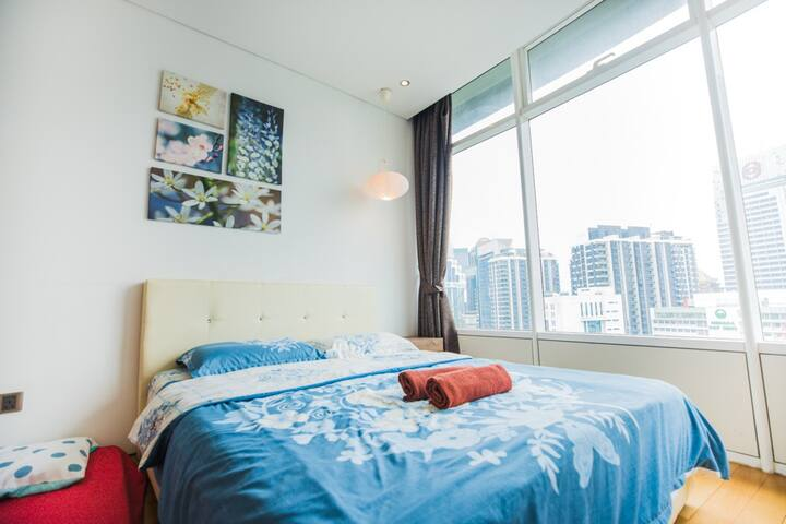 500m to Petronas Twin Tower Cozy Room 93A