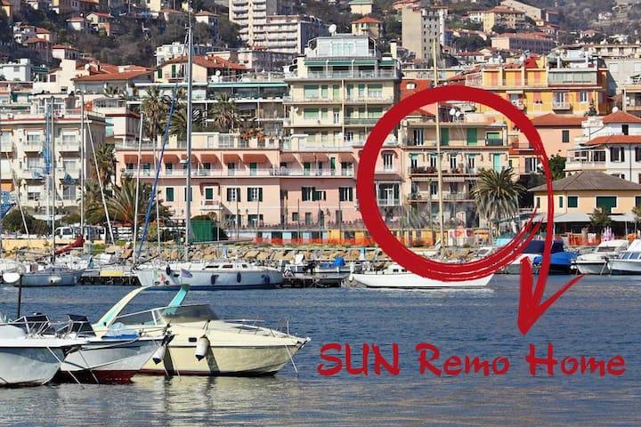 """SUN""Remo Home - On the sea, central, quiet"