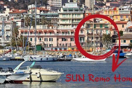 """Sun""Remo Home, Front sea/central/quiet/smart work"