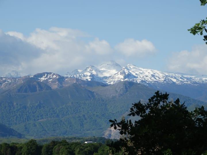 Belle vue sur les Pyrénées