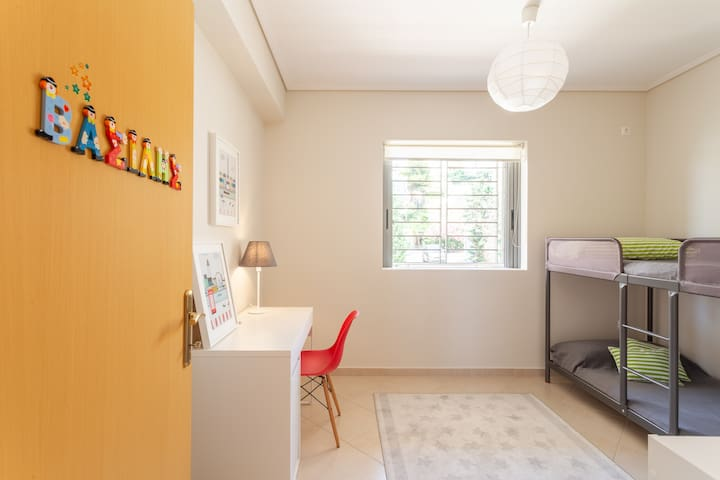 The kids room. Bright and spacious.