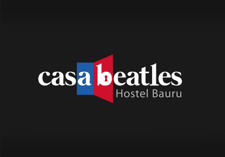 Casa Beatles Hostel Bauru - Quarto Paul Cama 3