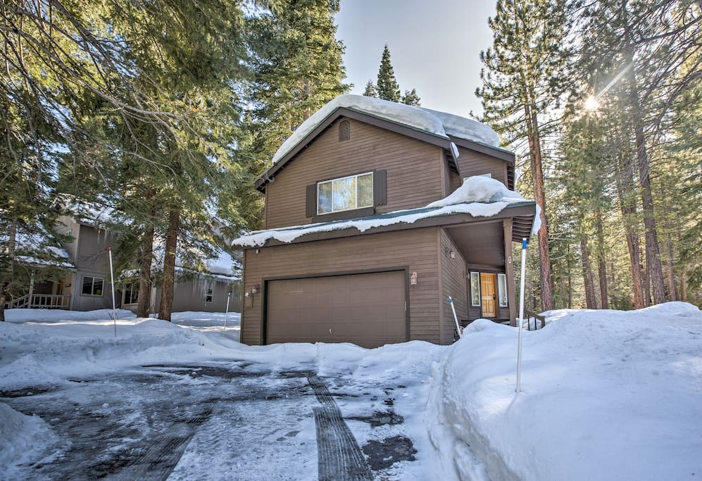 Enjoy peaceful privacy along with proximity to alpine adventures.