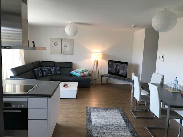 Traumhafte 3 Zimmer Wohnung in einem Neubaugebiet