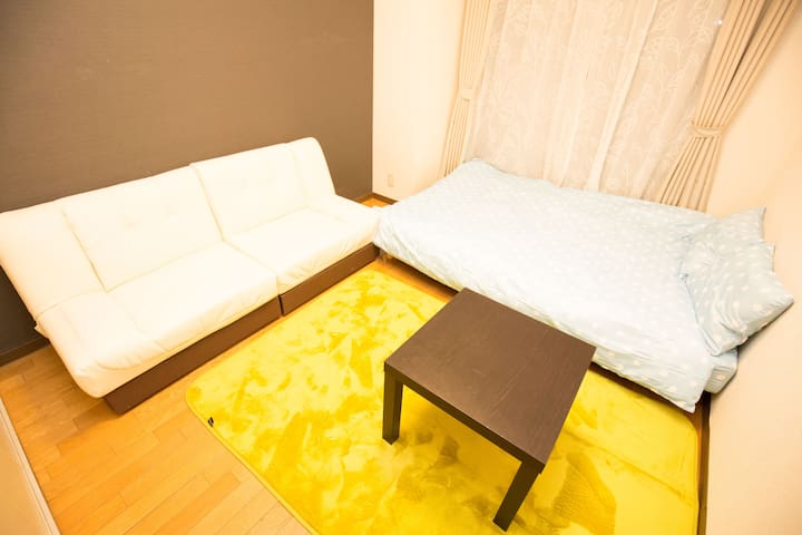 ☆4ppl stay☆WiFi free☆7min from st.☆Near Sakae☆