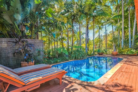 Secluded tropical oasis only 10 minutes from Noosa - Tewantin