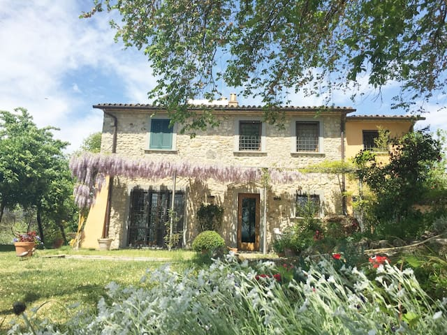 Casa Podere Macee in very green Umbria