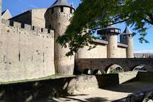 Le Château Comtal de la Cité de Carcassonne