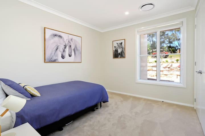The Equestrian room features up to 2 Single beds.