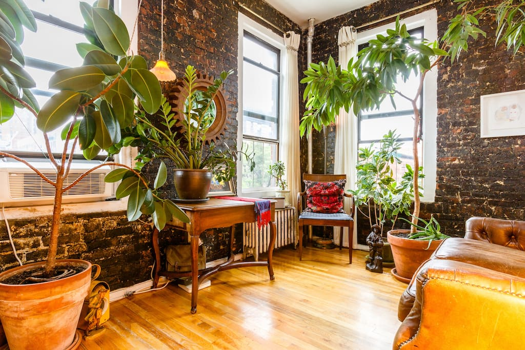 An oasis in the bustling East Village.