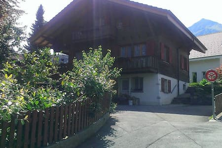 5 MINUTES WALK FROM THE STATION - Spiez